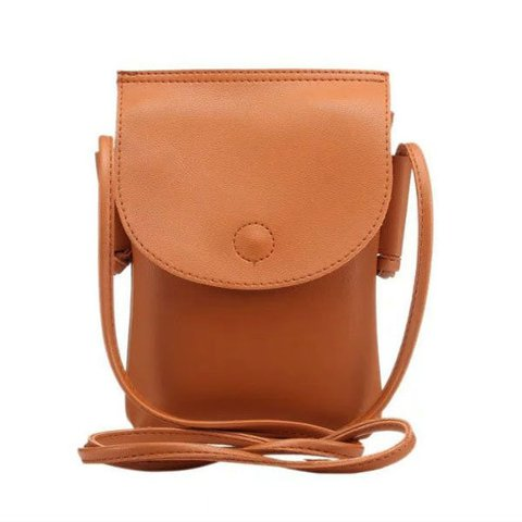 Women PU Phone Purse Elegant Summer Must-have Crossbody Bag
