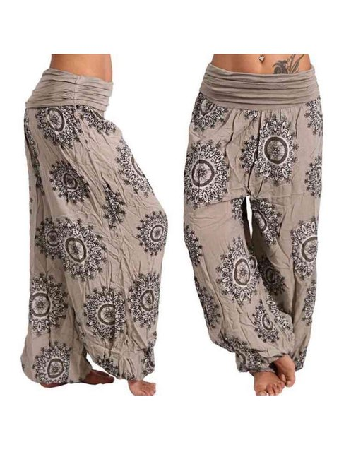 Tribal Casual Linen Pants