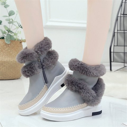 Women Snow Booties Casual Shoes