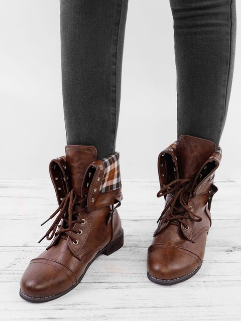 Women Classic Booties Casual Comfort Plus Size Shoes