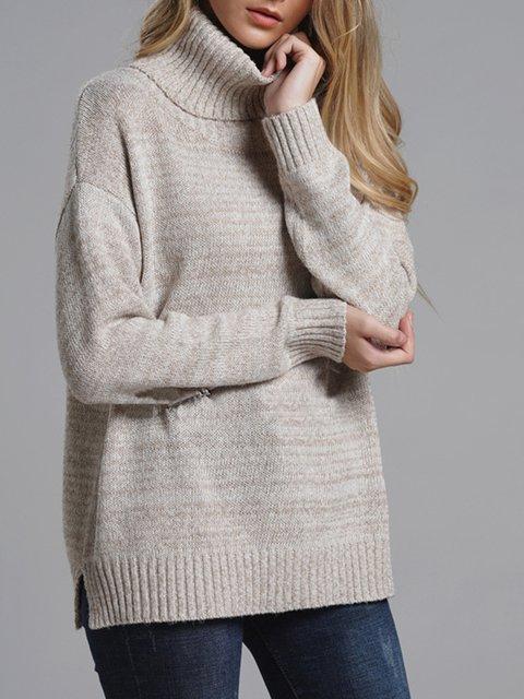 2018 Women's Winter Turtleneck Knit Wear Pullover Sweaters