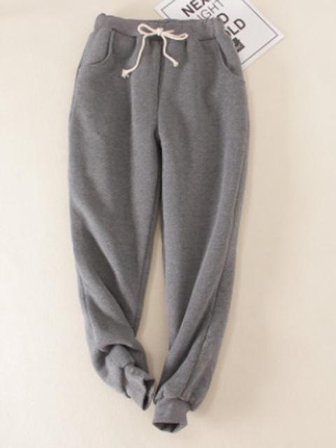 Cotton Casual Sport Color Super Soft Sherpa Fur Lined
