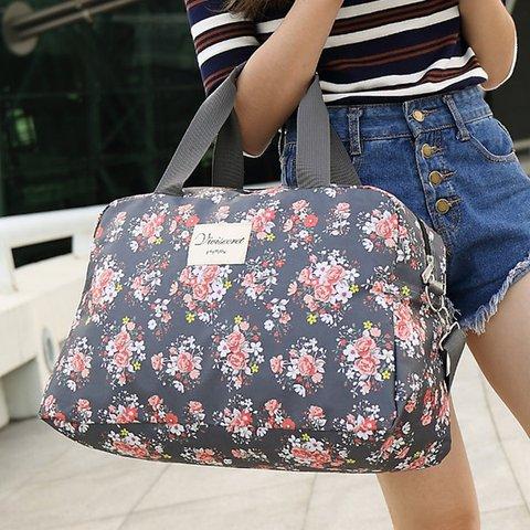 Floral Luggage Bag Travel Must-have Storage Bag