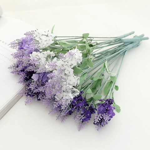 Artificial Lavender Silk Flower for Wedding Party Festival Home Decorations