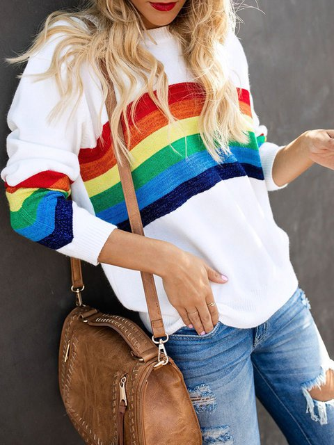 Colorful Comfort Knitted Sweaters