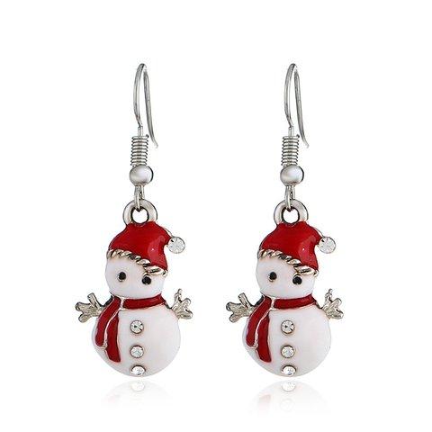 Christmas Earrings Charms Dangle Earrings Women