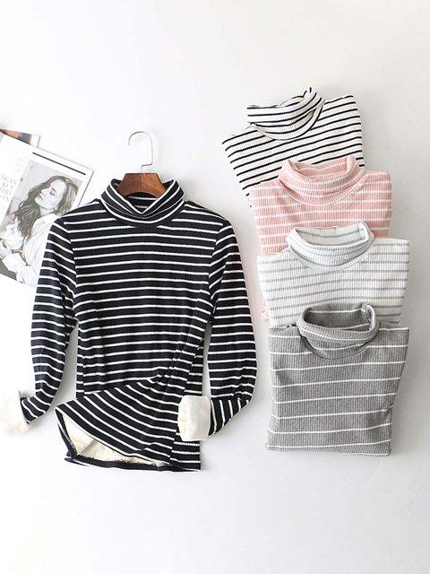 Printed Long Sleeve Casual T-Shirts