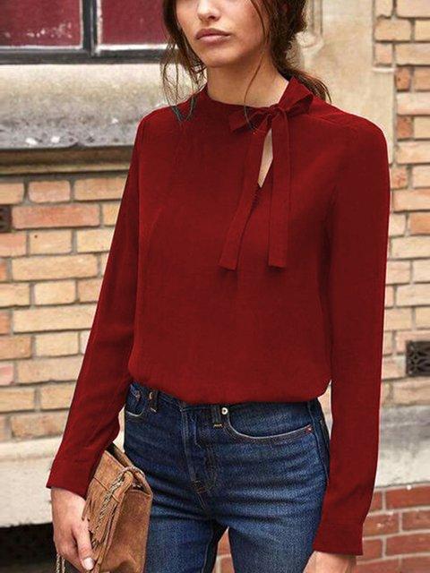 Elegant Long Sleeve Shirts & Blouses