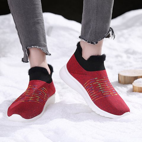 Women's Sock Sneakers Slip On Chic Shoes