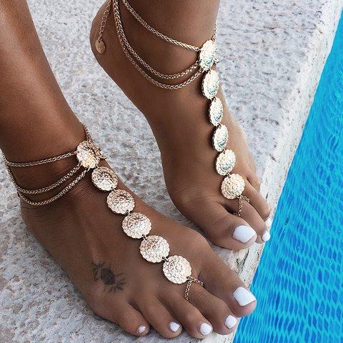 Women Alloy Bohemia Anklets