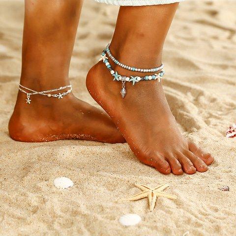 Women Fashion Conch Anklets
