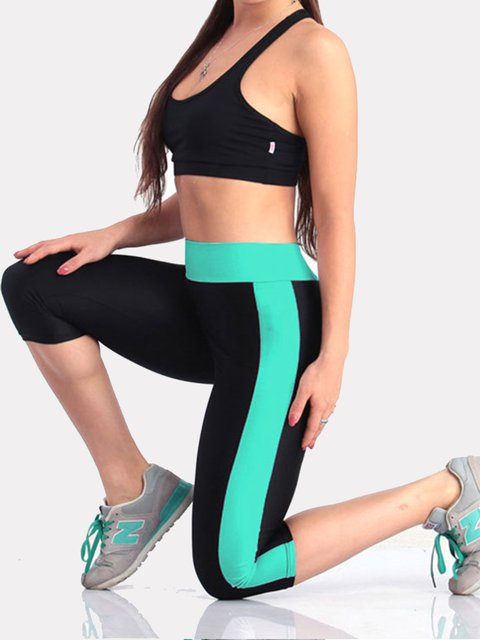 0107adb67dfb3 S-5XL High Waist Yoga Pants With Side & Inner Pockets Tummy Control Workout  Running