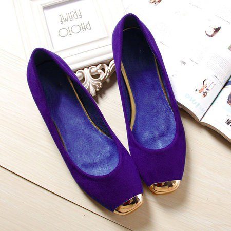 Women Slip-On Flats Casual Comfort Plus Size Shoes
