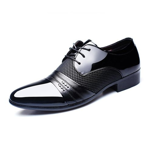 Men Lace-up Low Heel Spring/Fall Formal Shoes