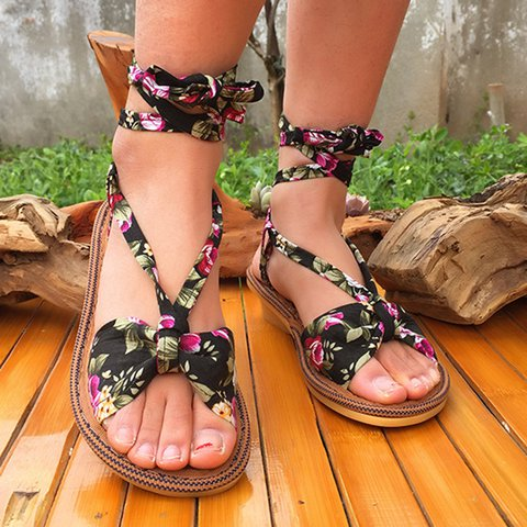 Tridal Retro Garden Breathable Soft Sandals