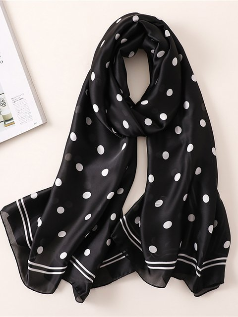 Casual Polka Dots Scarves