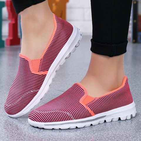Breathable Platform Slip On Loafers Sneakers