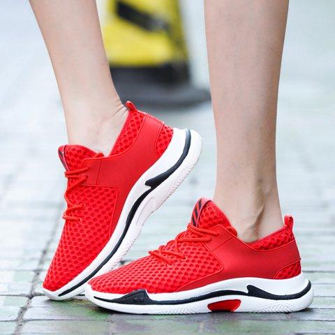 ed46bda3033 Justfashionnow Women s Sneakers Flat Heel Round Toe Black Lace-Up Sneakers