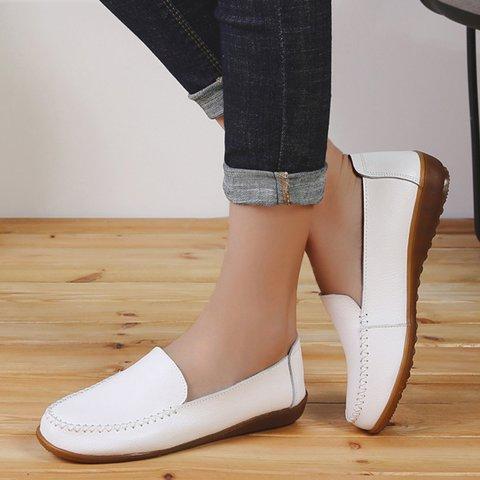 Casual Comfy Round Toe Non-slip Flats