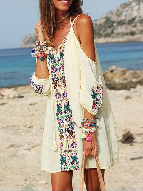 9264324ab8 Off Shoulder Sexy Patchwork Swim SS19 Dresses Plus Size White Dress Beach  Dresses Summer Dress