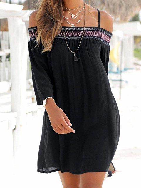 Women Summer Dresses Shift Daily Boho Dresses