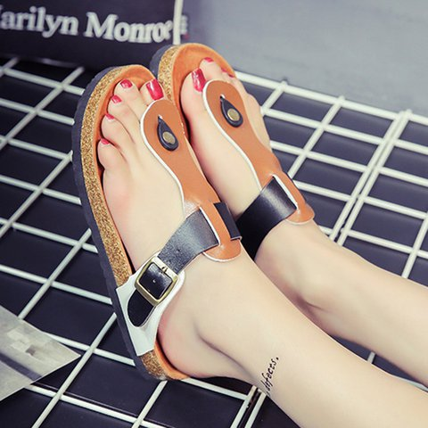 Beach Comfort Flip-flops Flat Casual Slippers