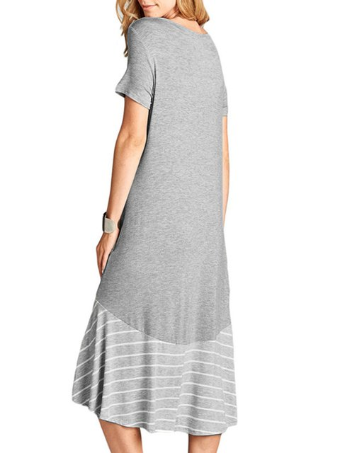 ea5929ea05 Justfashionnow Summer Dresses Casual Dresses Daily High Low Crew ...