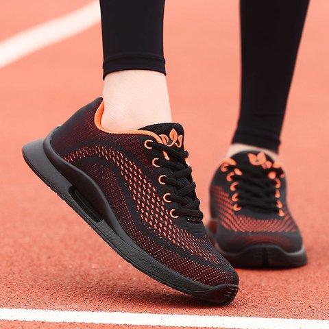 Womens Flat Heel Mesh Fabric Casual Spring/fall Sneakers
