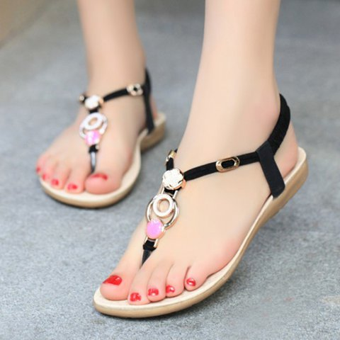 Beach Sandals Boho Flip Flops Shoes
