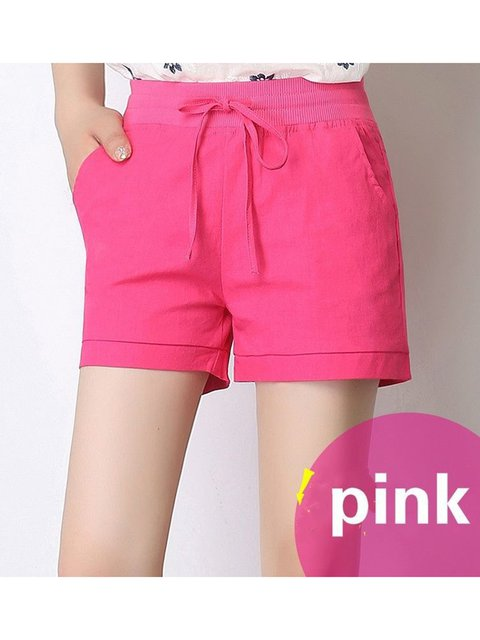 Size S-5XL Summer Pockets Drawstring Casual Shorts