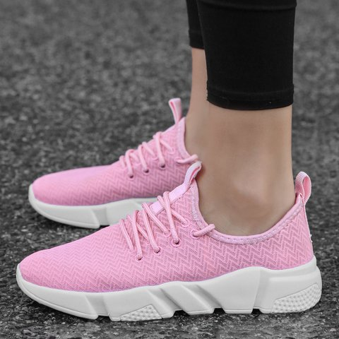 Women Athletic Lace Up Sneakers