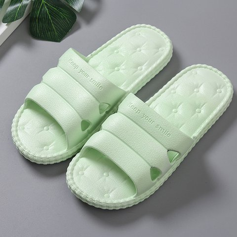 Daily Bathroom Plastic Unisex Slippers