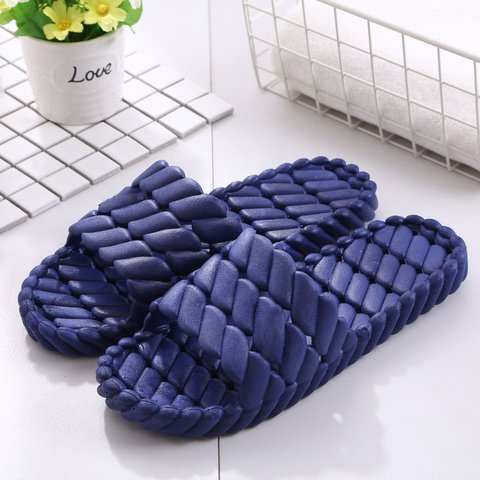 Daily Plus Size Bathroom Plastic Unisex Slippers