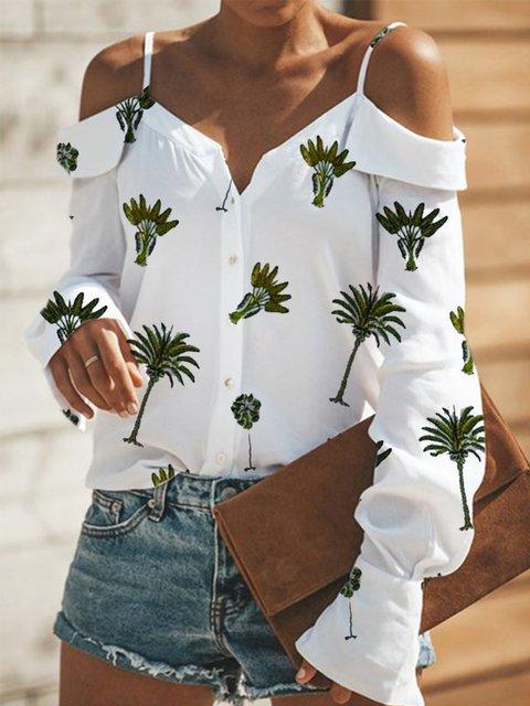 Cotton Long Sleeve Shirts & Tops