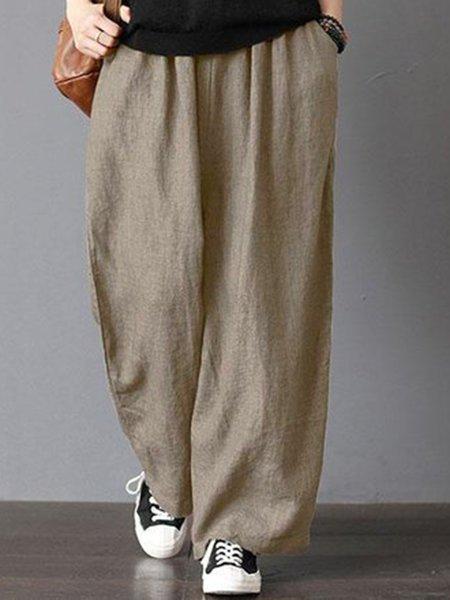 Cotton Casual Pants