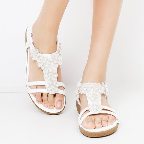 Boho Bling Rhinestone Sandals