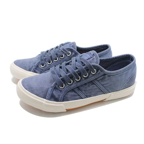 Athletic Style Lace-Up Round Toe Daily Sneakers