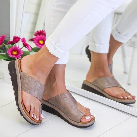 848a47d9a JustFashionNow Sandals Casual Purple Low Heel Open Toe Sandals