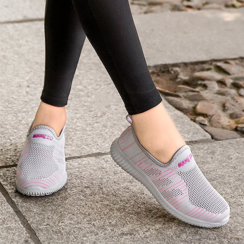 Unisex Athletic Style All Season Breathable Sneakers