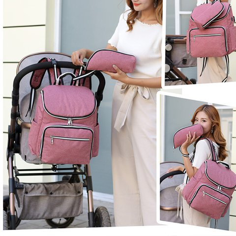 Fashion Large Capacity Multifunctional Mother & Baby Backpack
