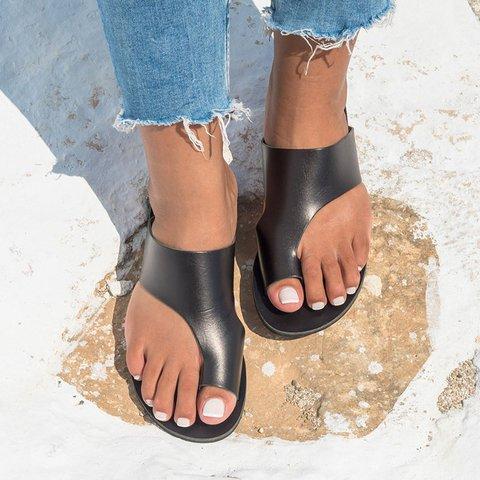 Women Flip-flops Slippers Flat Non-slip Vintage Sandals