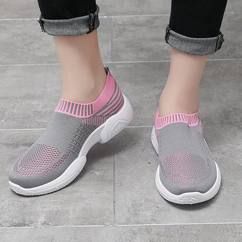 Women's Slip-On Breathable All Season Sneakers