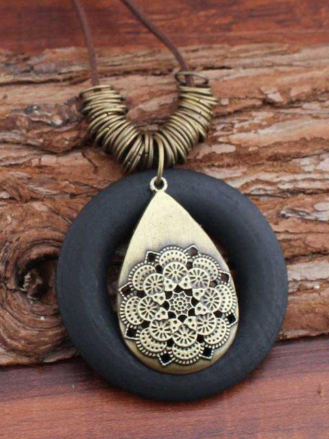 Bronze petal Necklace