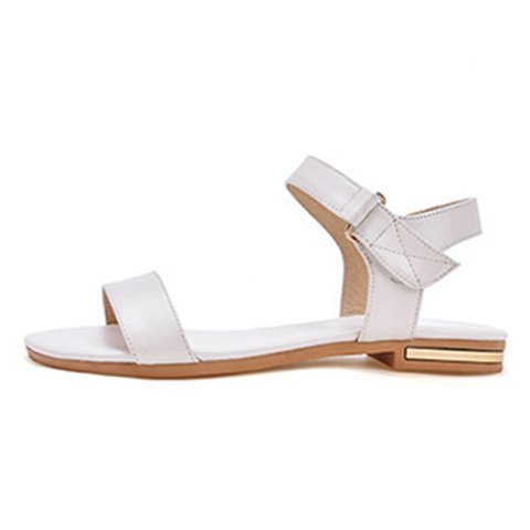 Women Low Heel Artificial Pu Sandals