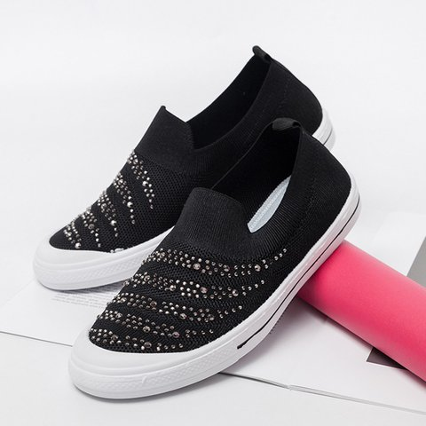 Women Casual Slip-On Sneakers
