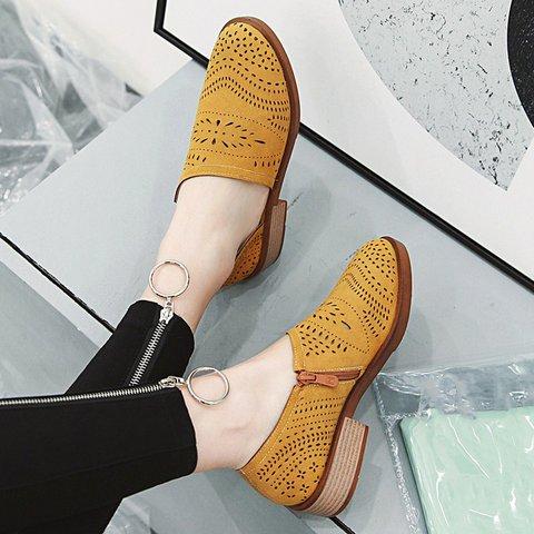 Women Casual Low Heel Loafers