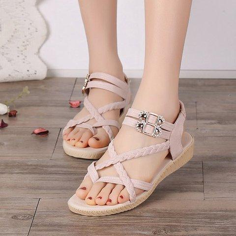 Womens Sandals Flip Flops Cross Casual Sandals