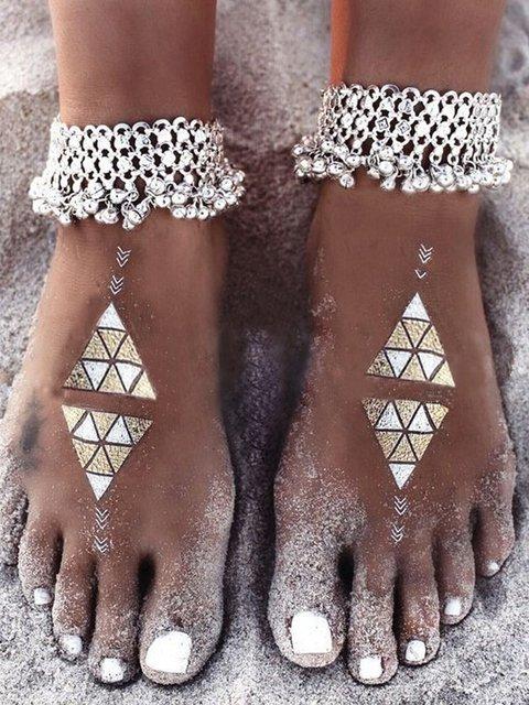 Vintage Small Bell Tassel women's Anklet