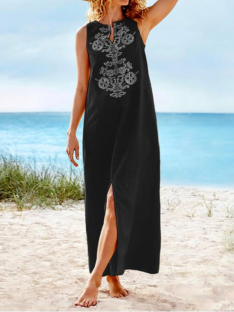 Boho Chic Printed Long Maxi Dresses