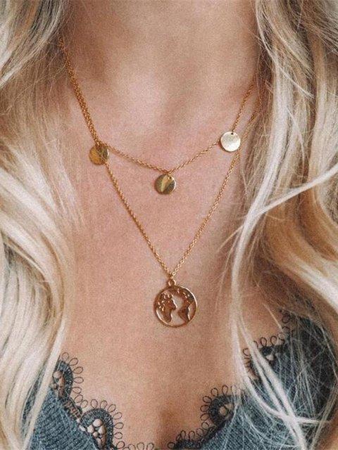Women Metal Necklaces